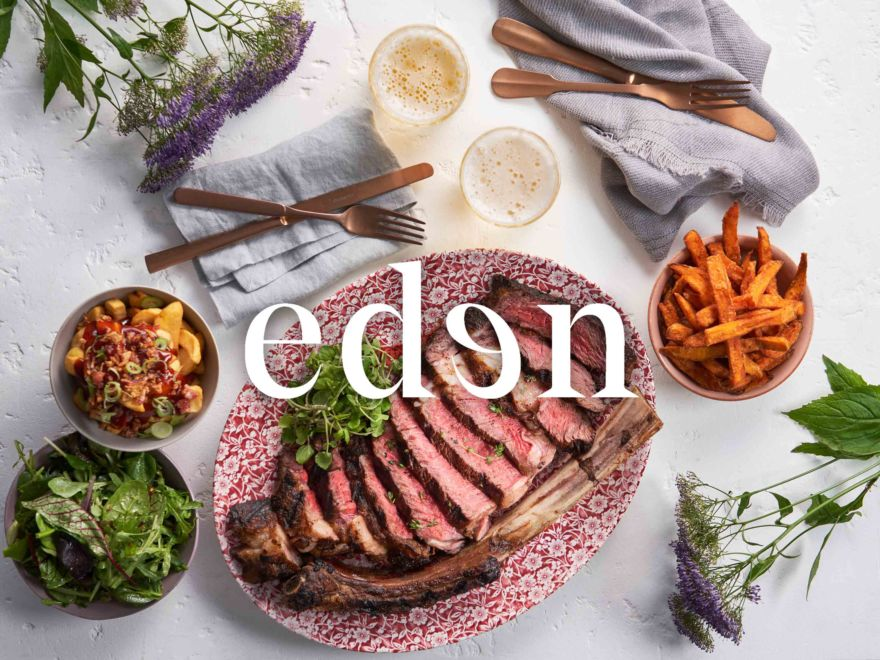 Eden – Two Course Meal