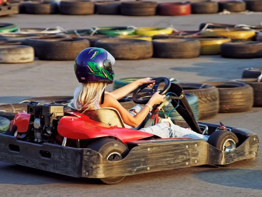 Hen Party Go Karting