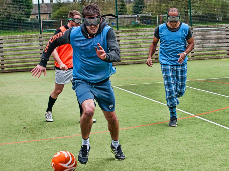 Goggle Football Stag Do