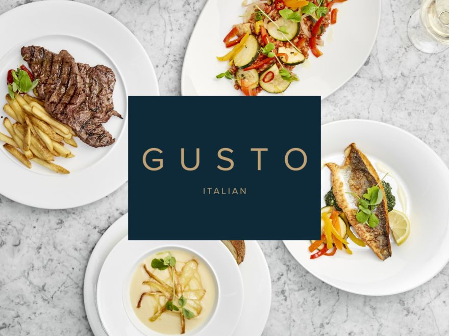 Gusto - 2 Course Meal