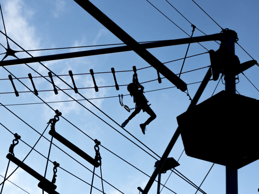 High Ropes Course Activity