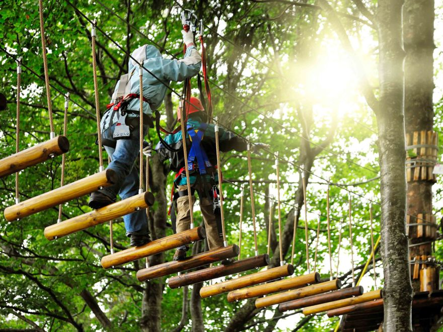 High Ropes Course Event