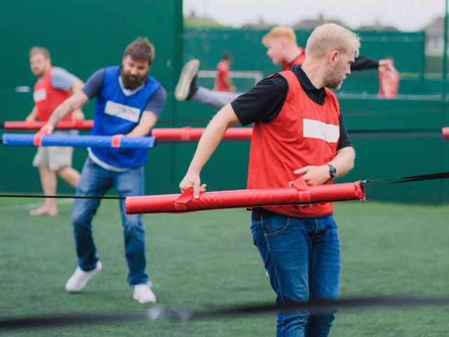 Giant Human Table Football