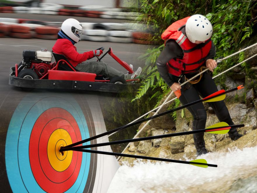 Karts, Archery & Ghyll Scrambling Stag Do