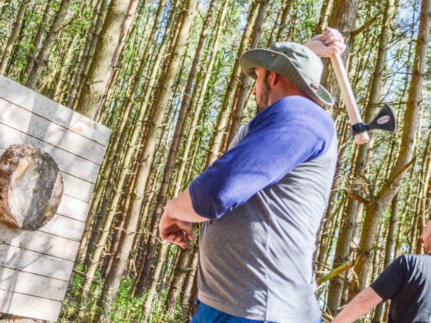 Knife & Axe Throwing Activity Stag Do