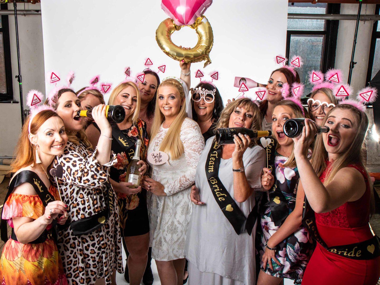 Makeover & Photoshoot Hen Party In Leeds