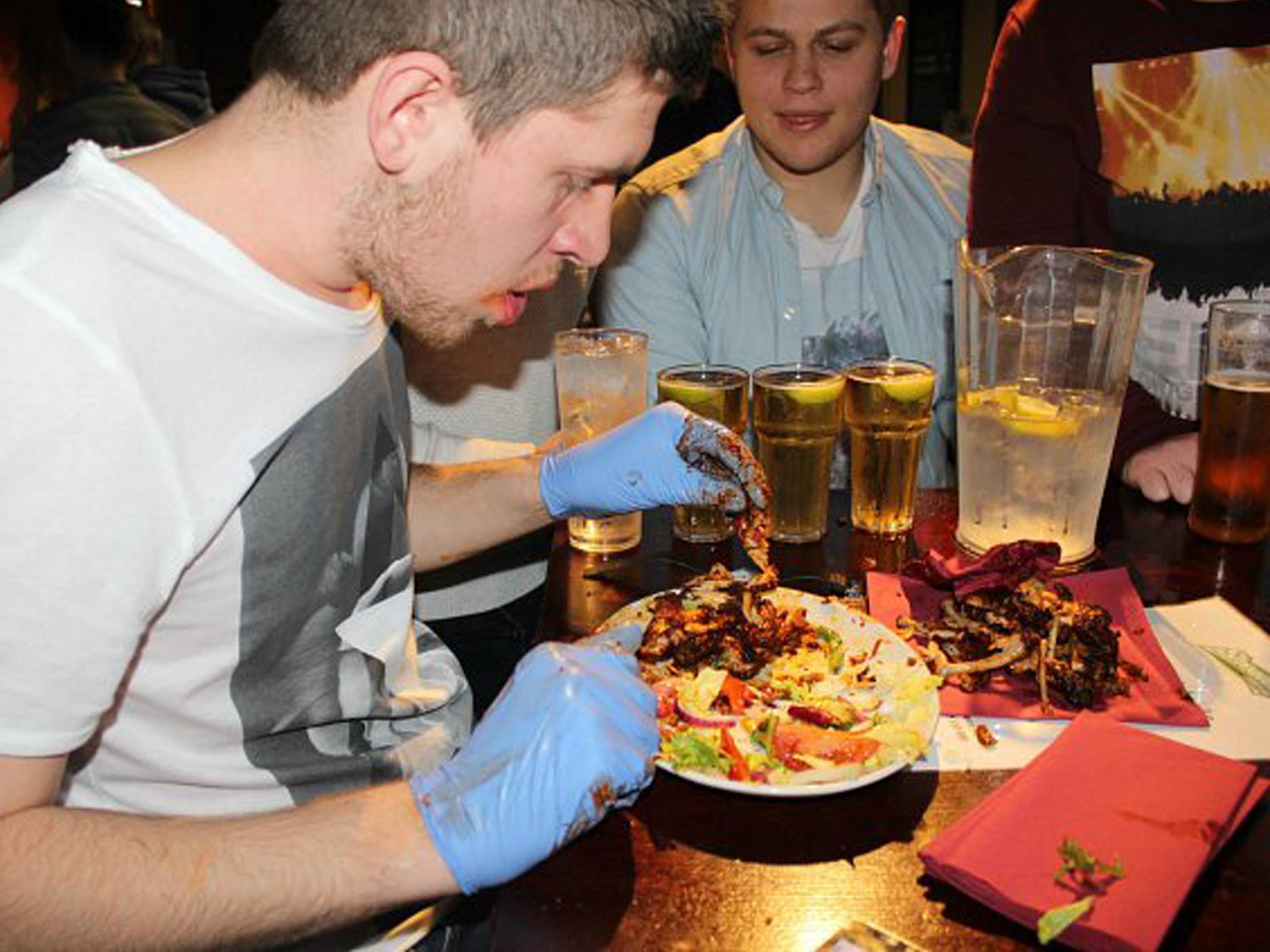 Man Vs Food Burger Challenge Stag Do