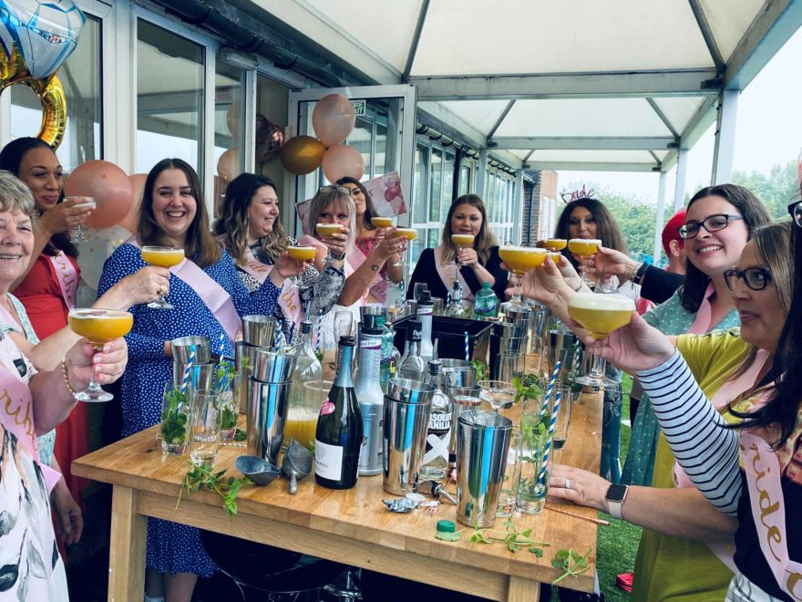 Hen Party Mobile Cocktail Making Experience