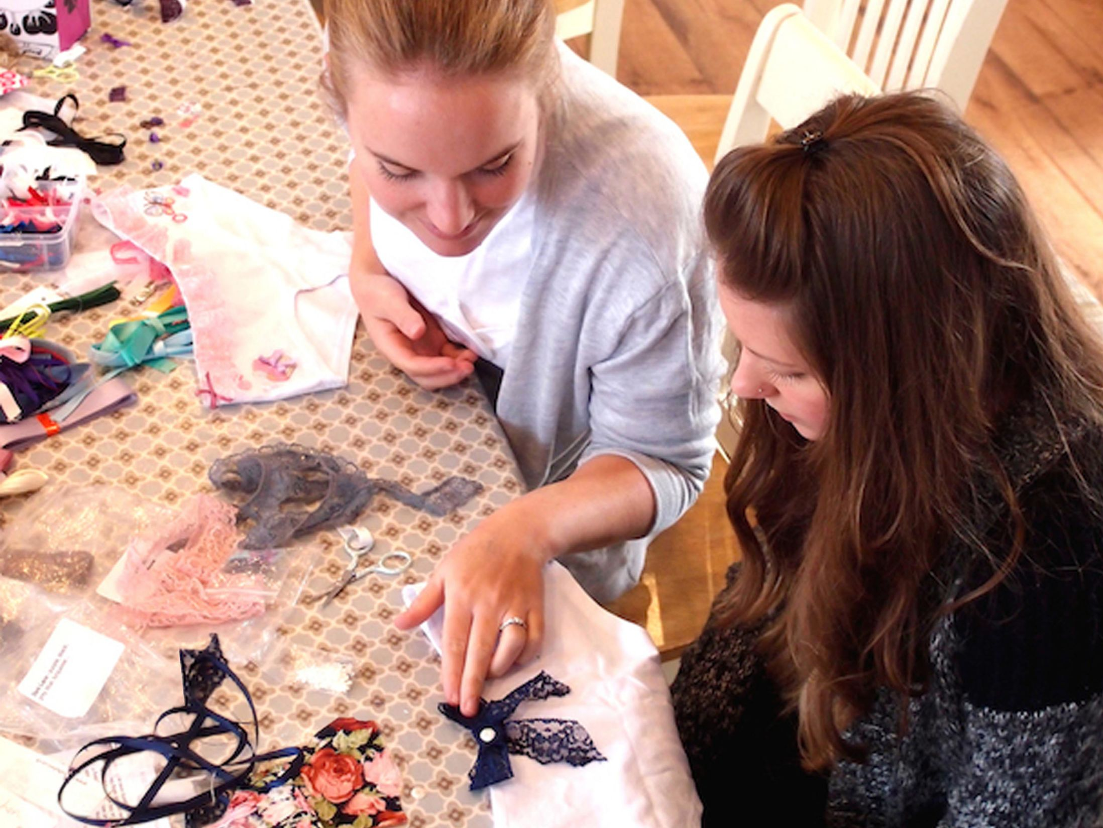Mobile Knicker Making