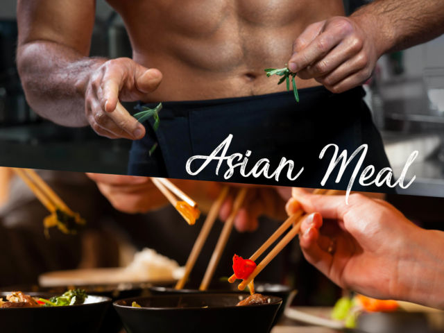 Naked Chef - Asian Menu