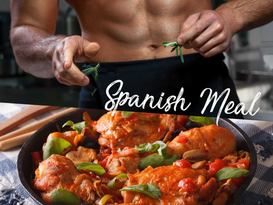 Naked Chef – Spanish Meal