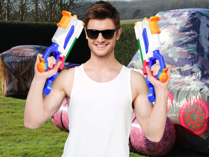 Stag Do Nerf War
