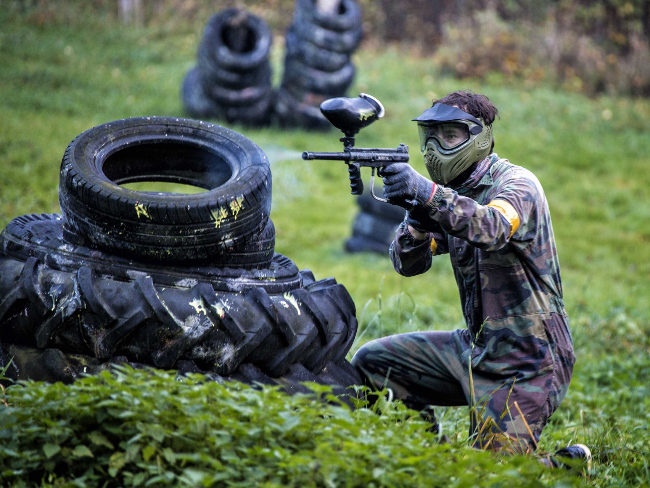 Paintballing for Groups
