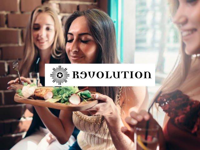 Revolution - 3 Course Meal & Drink
