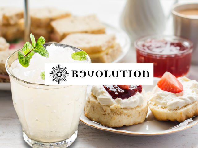 Revolution – Afternoon Tea & Cocktail