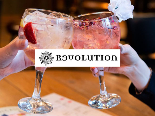 Revolution – Gin Making & 2 Course Meal