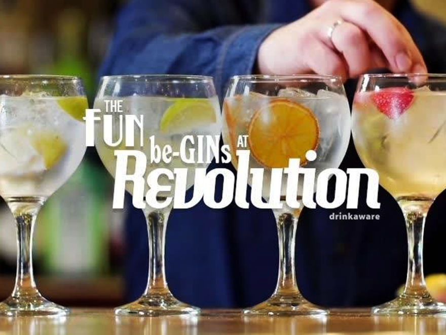 Revolution – Gin Making Class with Buffet