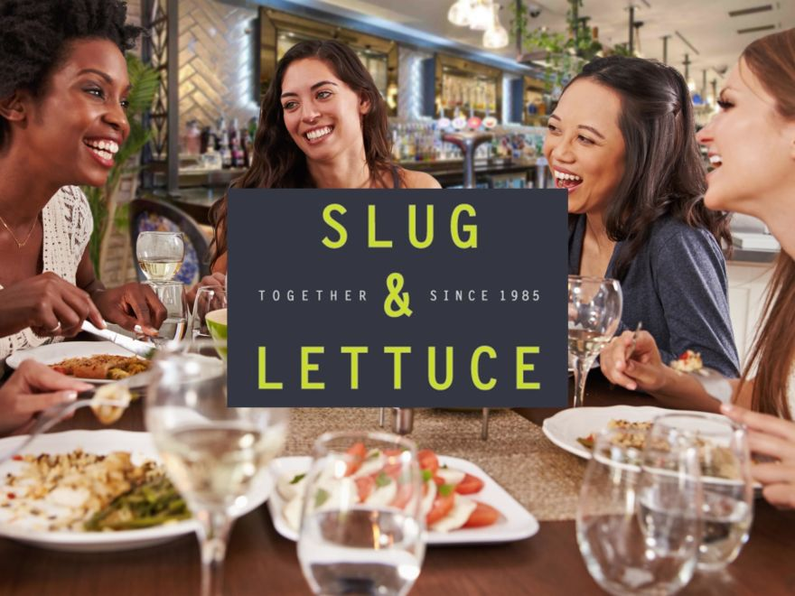 Hen Do Slug & Lettuce - 2 Course Meal