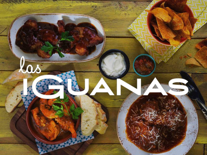 South American Meal at Las Iguanas