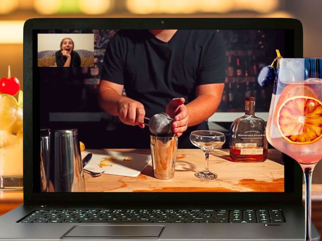Virtual Cocktail Making