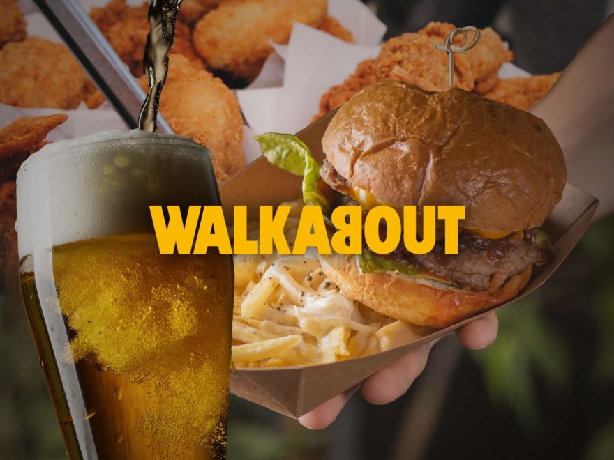 Walkabout - Burger or Wings & Drink