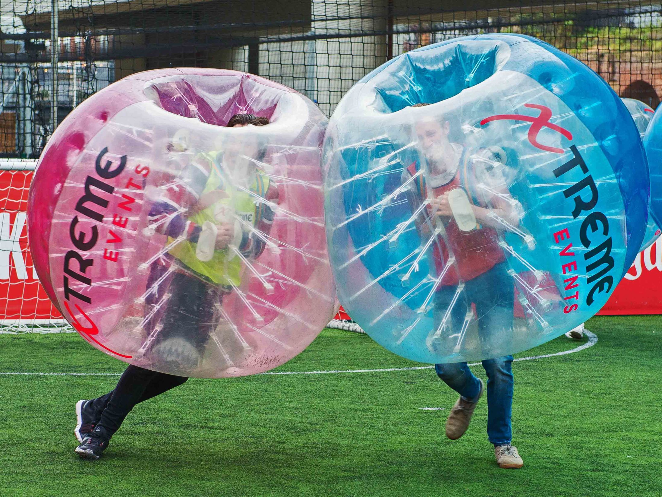 Zorb Bubble Games Birthday Party