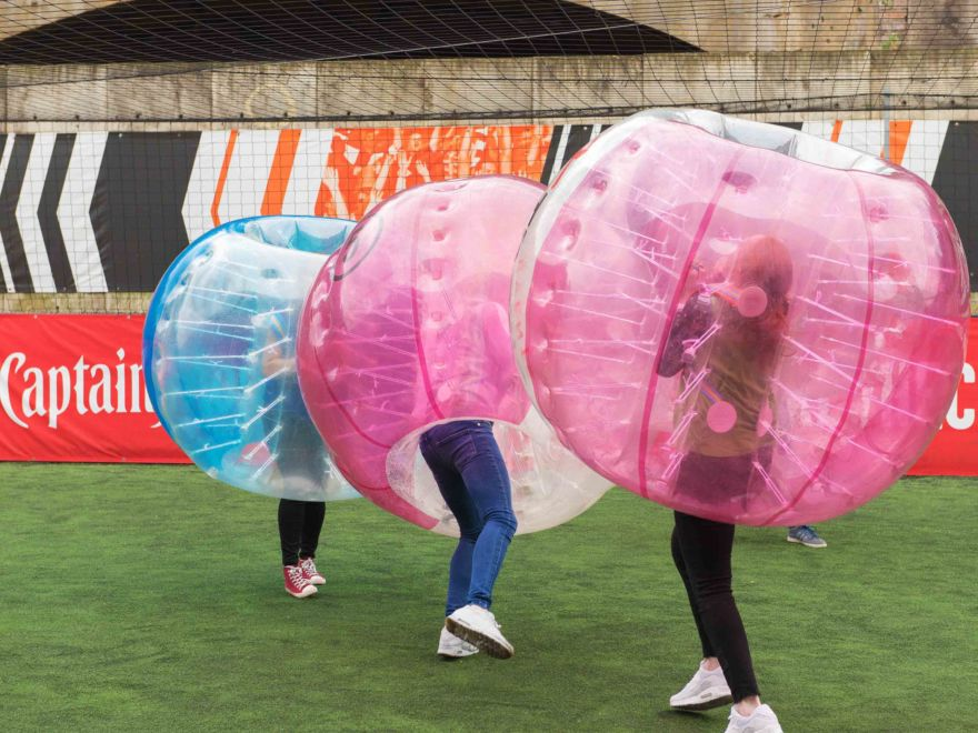 Zorb Bubble Games Hen Activity
