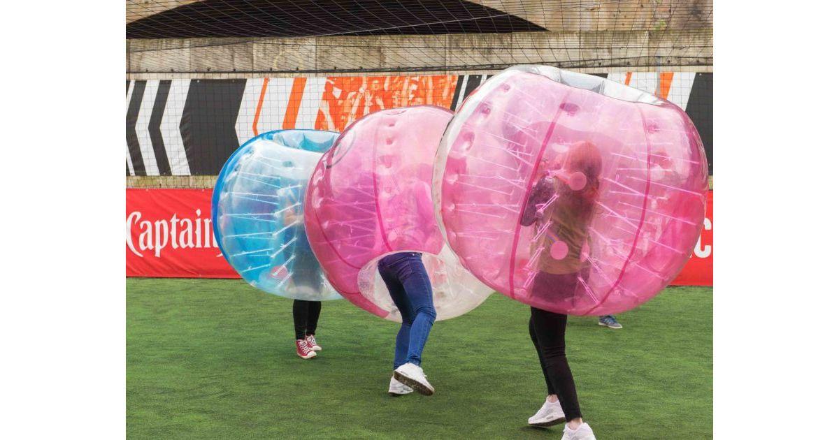 Zorb Bubble Games Hen Party In Leeds