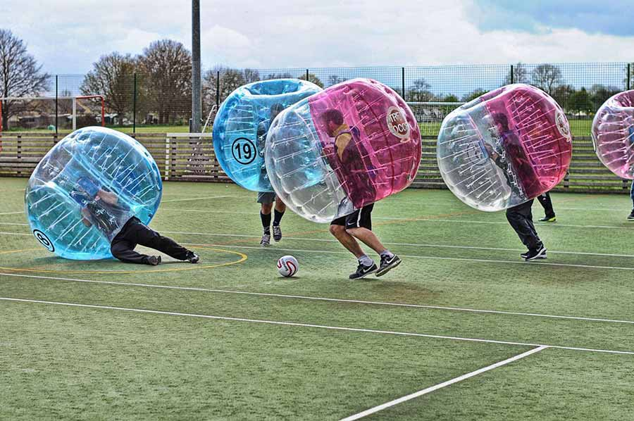 Zorb Football and Dodgeball Stag Do Bundle