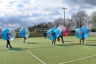 Funny Zorb Football Stag Do in Liverpool