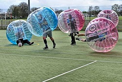 Stellar Stag Do Zorb Football