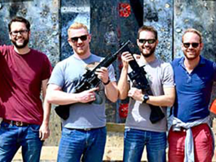 Rifles, Axe Throwing, Crossbows & Segways Stag Do