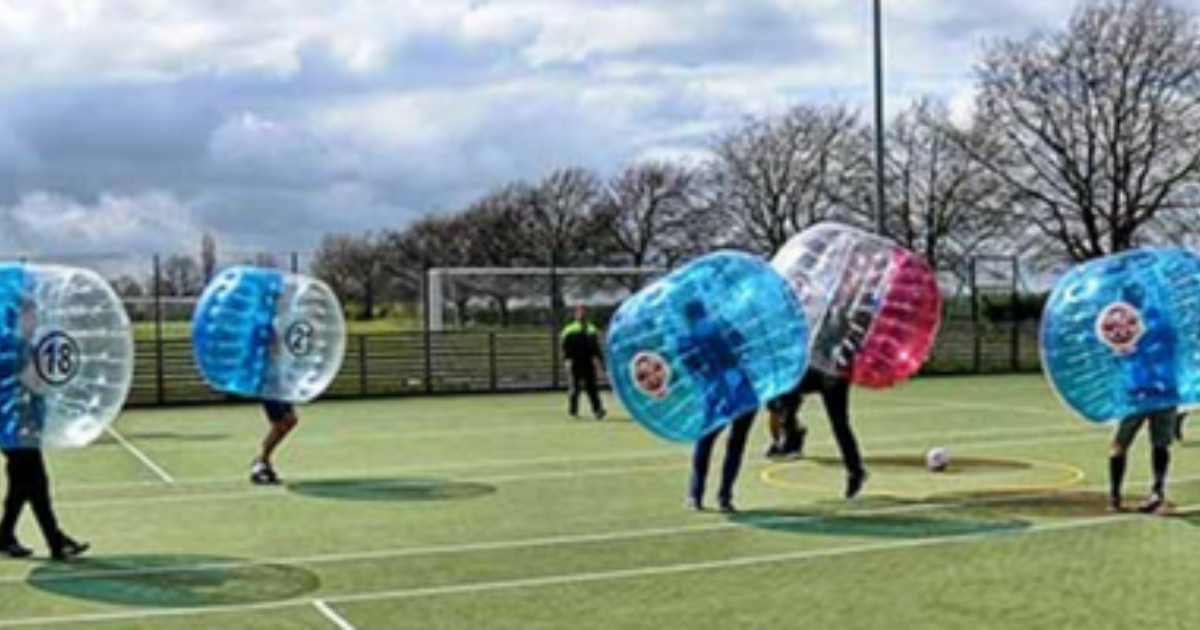 Zapped Zorbs Stag Do Bundle