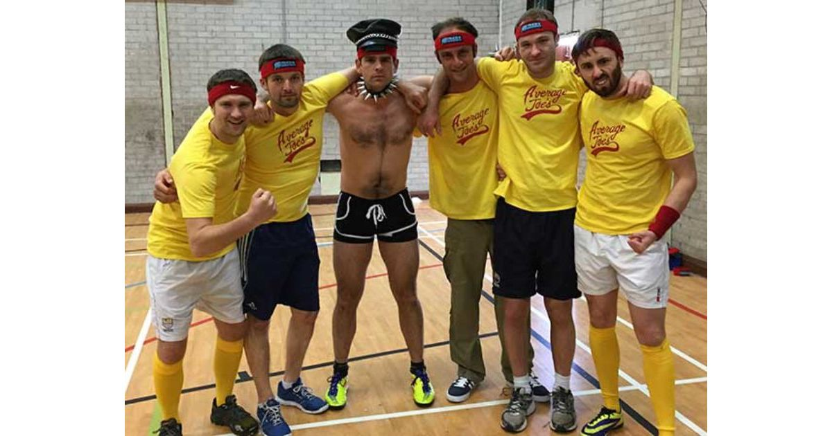 Dodgeball Stag Do Reading