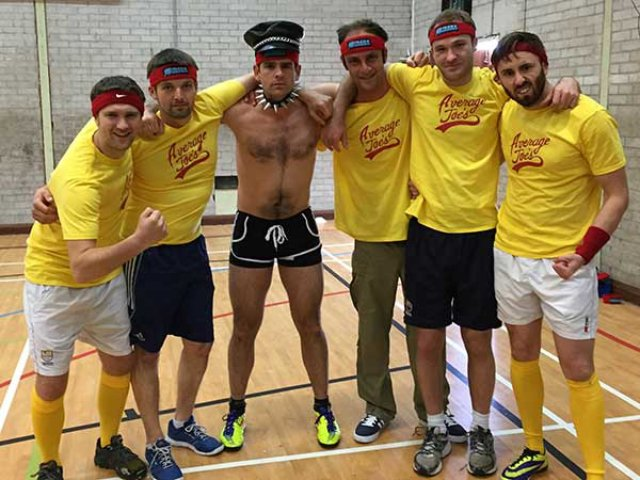 Dodgeball Stag Do Swansea