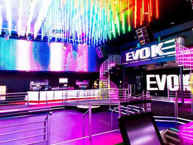 Evoke Nightclub Entry