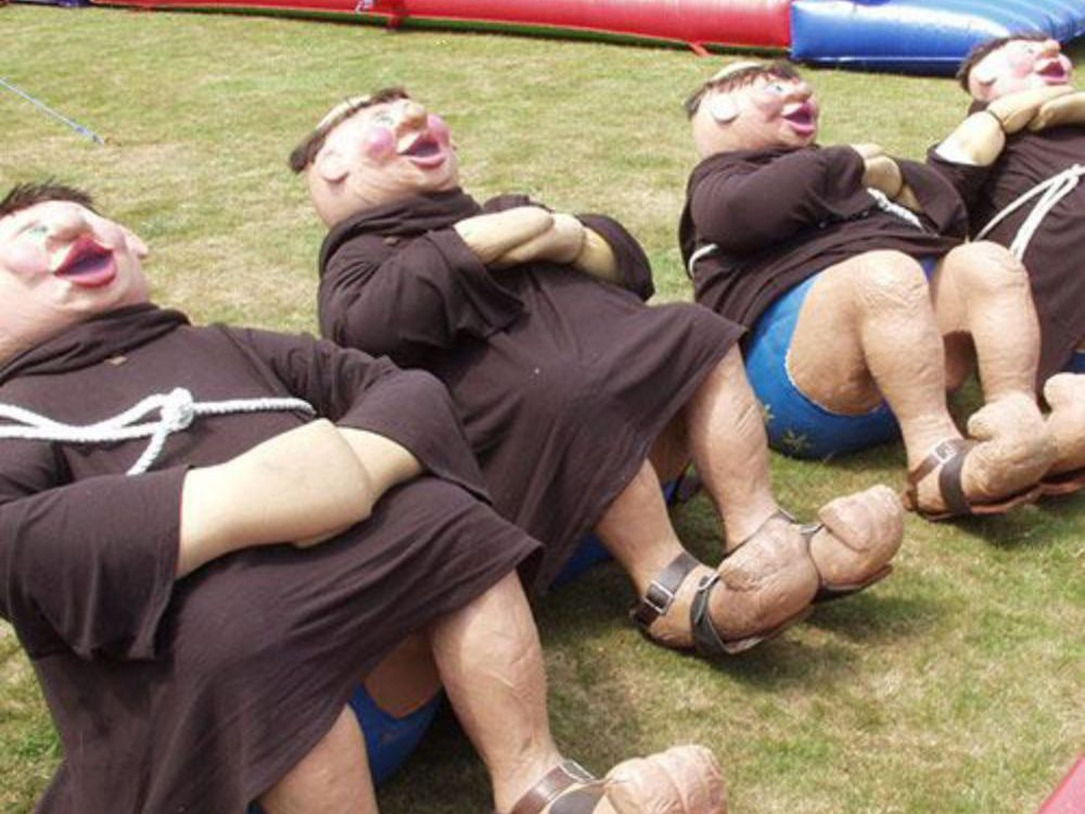It's a Knockout Stag Games Activity