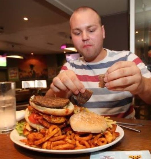 Man Vs Food Stag Do Glasgow