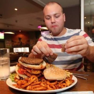 Man Vs Food Stag Do Reading