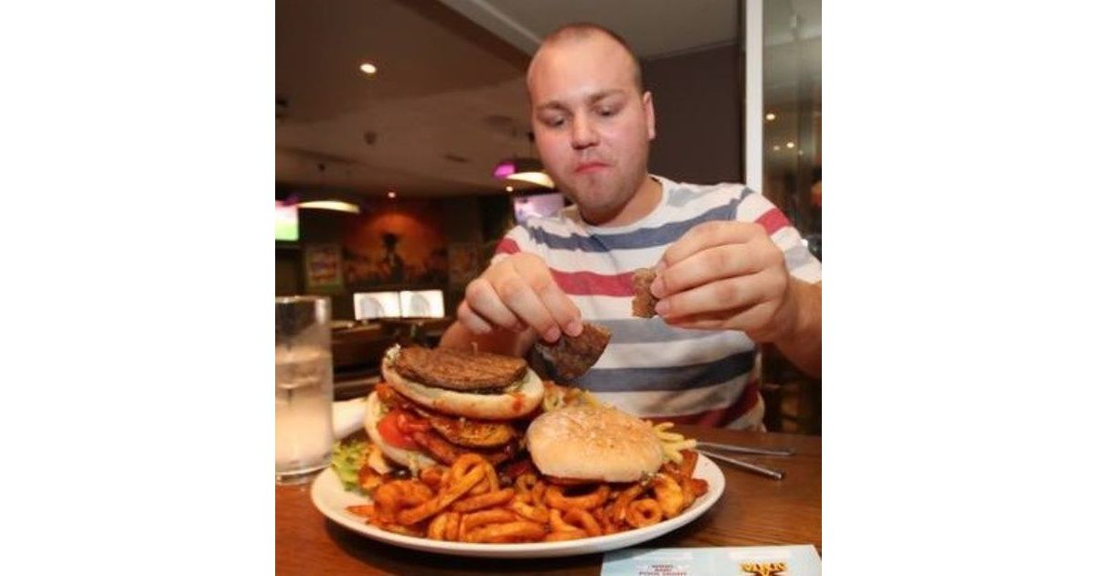 Man Vs Food Stag Do Sheffield