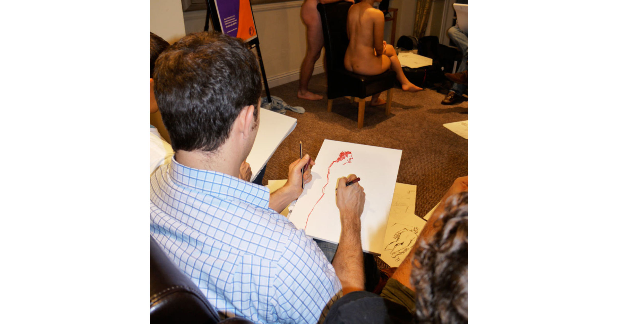 Life Drawing Stag Party Reading