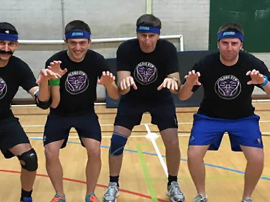 Dodgeball Stag Weekend Liverpool