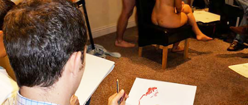Nude Life Drawing Stag Weekend Blackpool