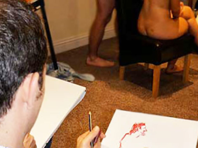 Nude Life Drawing Stag Weekend Glasgow