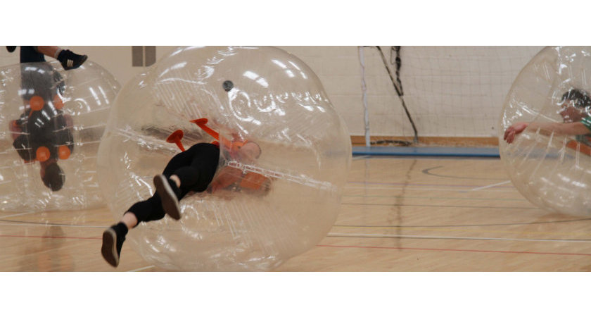 Zorb Football Stag Do Weekend Cambridge