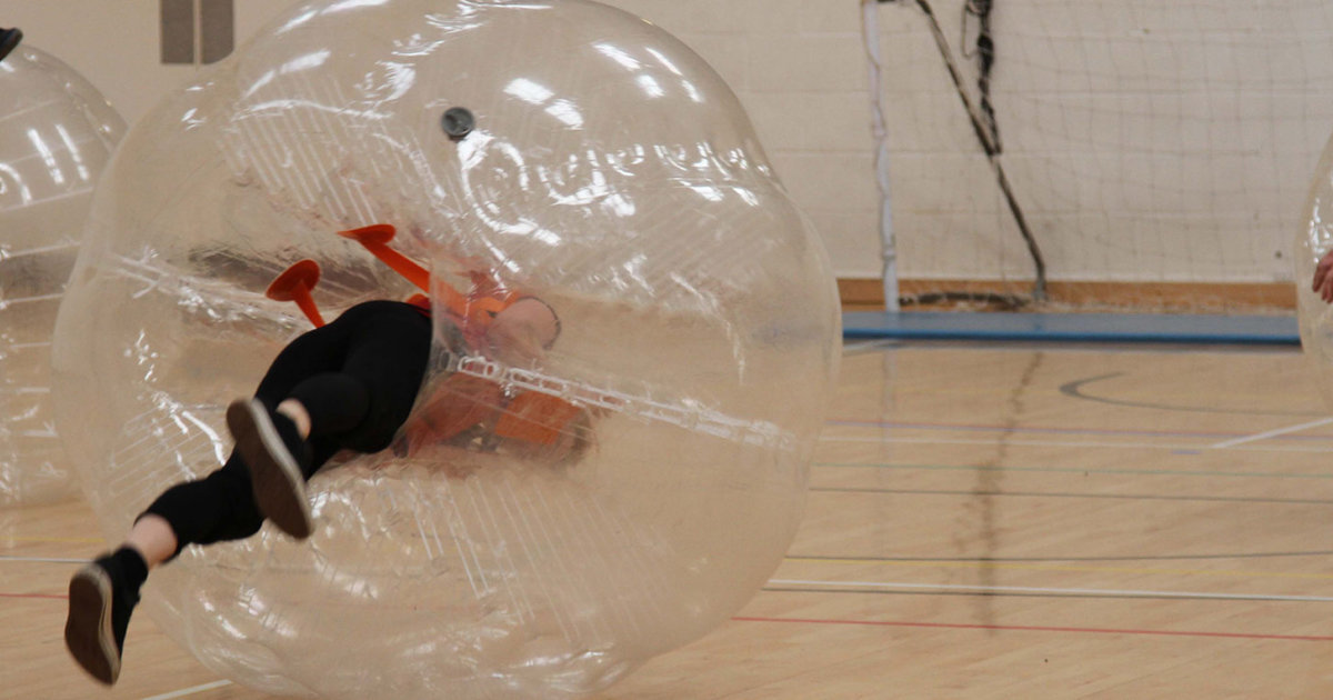 Zorb Football Stag Do Weekend Manchester