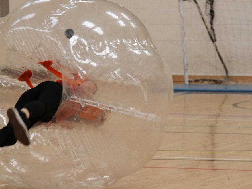 Zorb Football Stag Night Cardiff