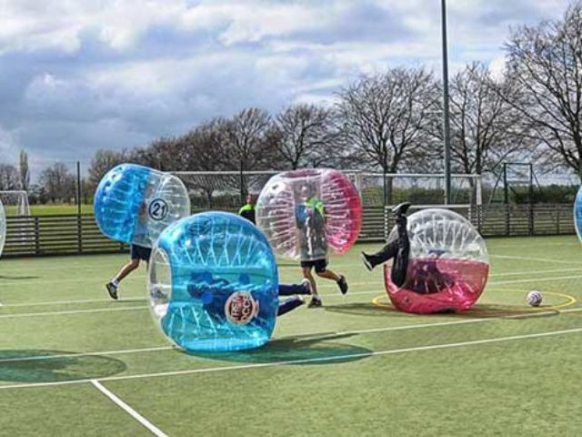 Zorb Football Experience Stag Party