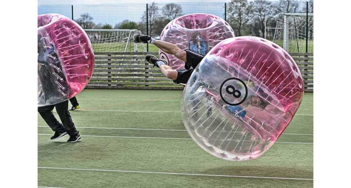 Cardiff Zorb Football Stag Do Bubble Football