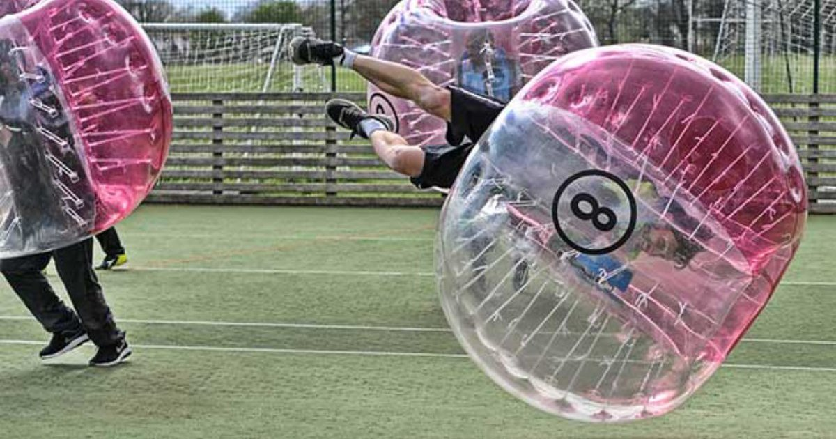 London Zorb Football Stag Do Bubble Football